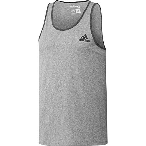 adidas Men's Training Ultimate Tank, Black, Large