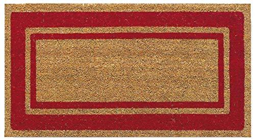 Casatessile Felpudo de Coco Spuer 50x90 cm - Rosso