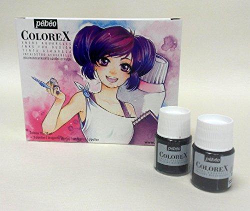 Colorex aquarelltuschen manga kit de démarrage