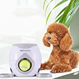 Interactive Training Dog Feeder, Dog Ball Fetch and Interactive Food Reward Dispenser,Treat Toy Tennis Ball Reward Machine for Dogs, Interactive Dog Toys(NOT A Launcher)