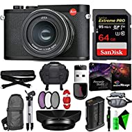 Leica Q2 Digital Camera with Summilux 28mm f/1.7 ASPH. Lens - Memory Card - Bundle