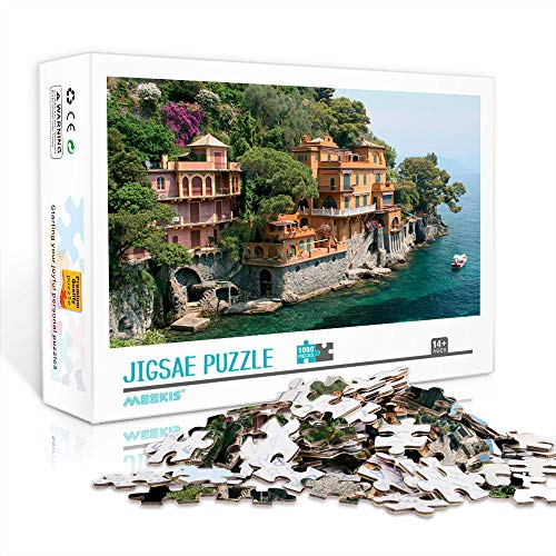 ASFDF Puzzle Classico 300 Pezzi Tourism City : Giochi Puzzle Antistress Liguria e Regali Unici 38x26cm