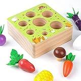Onlyonehere Holzspielzeug Montessori,Karotte Spielzeug,sortierspiel Holz Für Kinder,motorik Spielzeug Kleinkind,karottenernte Montessori,pädagogisches...