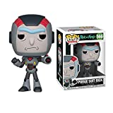 Funko Pop Rick and Morty - Purge Suit Rick #650 Vinyl 3.75inch Animation Figure Anime Derivatives Boy's Toy