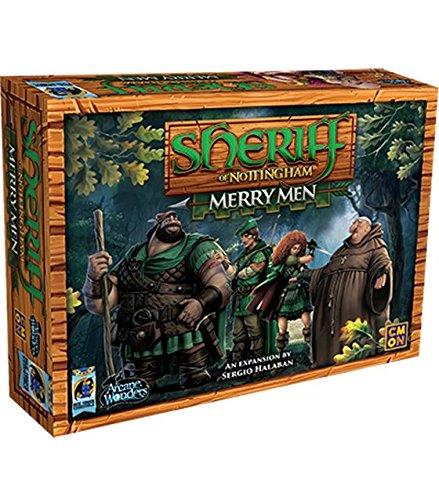 Arcane Wonders AWGDTE01SNX1 - Gioco di espansione dello sceriffo di Nottingham Merry men, multicolore