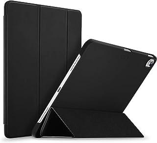 ESR iPad Pro 11 ケース 2018年秋モデルにフィット[Apple Pencilのペアリングとワイヤレス充電に非対応] iPad Pro 11 カバー 軽量 薄型 レザー 三つ折スタンド オートスリープ機能 2018年秋発売のiPad Pro 11インチ専用(マット・ブラック)