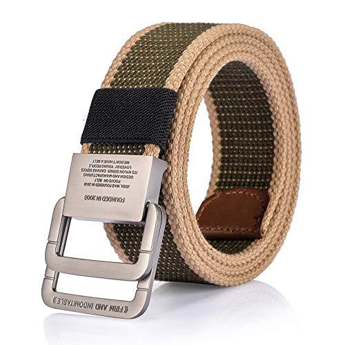 Hysagtek Heavy-Duty 50/x 2,5/cm metallo D anello fibbie per collari borse cinghie Yoga cinghie cinture cablaggio