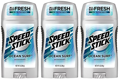Speed Stick Deodorant Ocean Surf - 3 oz, 3er-Pack