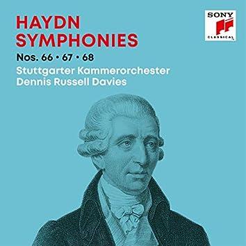 Haydn: Symphonies / Sinfonien Nos. 66, 67, 68