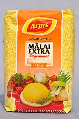 Arpis - Polenta - Malai Extra - Sin Gluten - Harina de Maiz Precocida - 1 Kilogramo