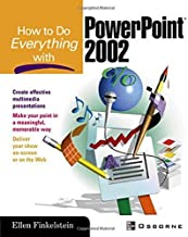 How to Do Everything with PowerPoint(R) 1st edition by Finkelstein, Ellen (2002) Paperback