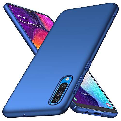 ORNARTO Funda Samsung A50, A30s Carcasa [Ultra-Delgado] [Ligera] Mate Anti-arañazos y Antideslizante Protectora Sedoso Caso para Samsung Galaxy A50/A30s(2019) 6,4 Pulgadas Azul