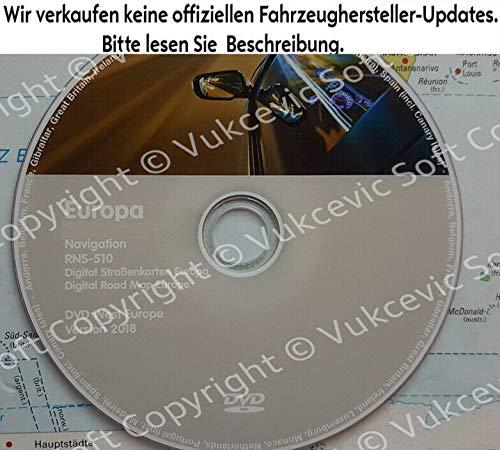West RNS-510 VW Navigation DVD 2018