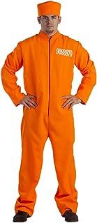 Dress Up America Adult Prisoner Costume