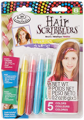 Royal & Langnickel Crayons Pastel pour Cheveux