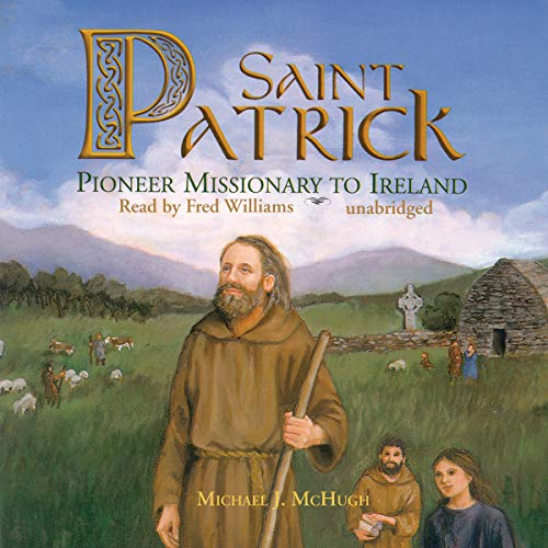 St. Patrick audiobook cover art