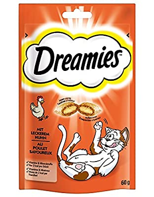Dreamies Chicken Treats for Cats, 60 g