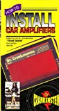 How to Install Car Amplifiers