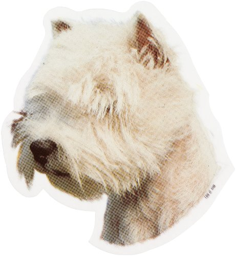 World Stickers Sweden AB Autocollant West Highland Blanc Terrier Head small