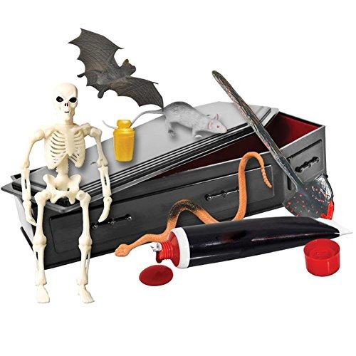 Ultimate Black Coffin Casket Playset for Wrestling Action Figures