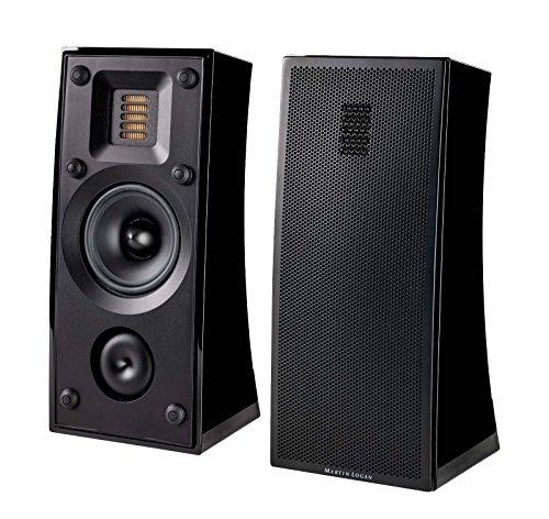 MartinLogan Motion 4i Bookshelf Speaker, Pair (Gloss Black)