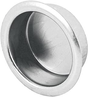 Slide-Co 163180 Finger Closet Pull, 3/4 in. x 5/16 in. in, Satin Nickel