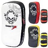 TurnerMAX MMA Boxeo Thai Pads Curvo Brazo Tiro Escudo