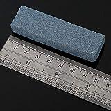 PXLPXL Doppelseitiger schwarz-grüner quadratischer Schleifstein aus Carbon-Silizium