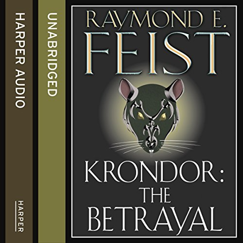 Krondor: The Betrayal audiobook cover art