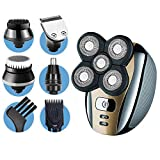 Dreamme Electric Shaver for Men 5-in-1 Grooming Kit for Men:Five-Headed Beard Electric Razors,Nose...
