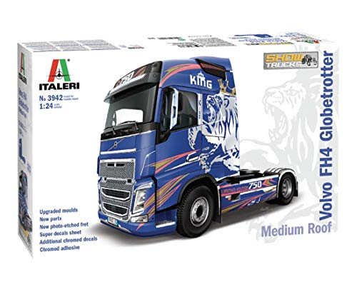 Italeri Volvo FH4 Globetrotter Model Kit, Escala 1:24