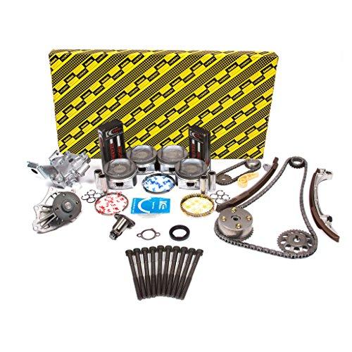 Evergreen OK2040GM/0/0/0 Fits 02-06 Toyota RAV4 Highlander Camry Solara 2.4L DOHC 2AZFE Master Overhaul Engine Rebuild Kit (w/VVTi Gear)