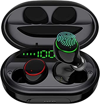 Eddorunning IPX8 Waterproof Bluetooth 5.0 Earbuds