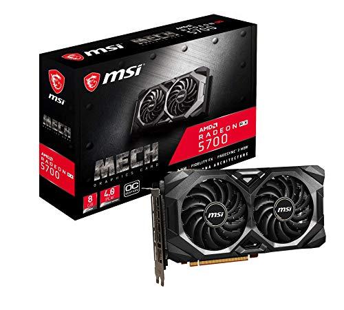 MSI - Scheda grafica Radeon RX 5700 MECH OC ENTHUSIAST 256 bit, 8 GB GDDR6, HDMI, DP, PCI Express 4.0