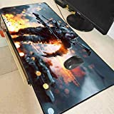 Mouse pad Mice Pad Battlefield Rubber Mouse Pad Large Mouse Mat Desk Mats Big Mousepads Gaming Rug XL for Office Work Gaming Computer mat