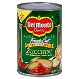 Del Monte, Zucchini with Italian Style Tomato Sauce, 14.5oz Can (Pack...