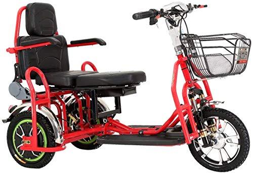 Alta velocidad Bicicletas eléctricas rápidas for adultos de 12 pulgadas, llantas de carbono de alta manganeso Material Acero portátil plegable bicicleta eléctrica for el adulto 48V de iones de litio P