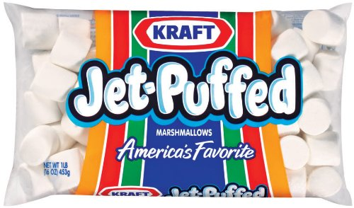 JetPuffed Marshmallows 16 oz Pack of 12