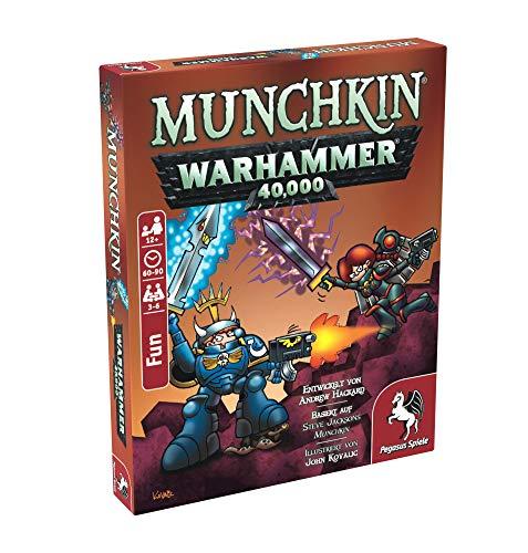 Pegasus Spiele 17015G - Munchkin Warhammer 40.000