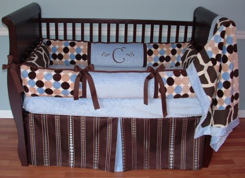 Learn More About Modpeapod Retro Giraffe Breathable Baby Bedding Set