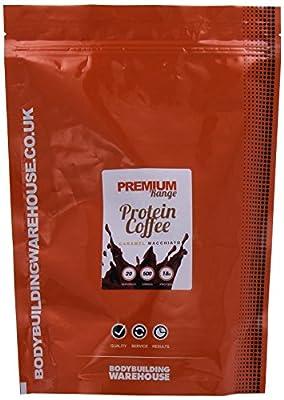 Bodybuilding Warehouse Premium Protein Coffee (Caramel Macchiato, 500g)