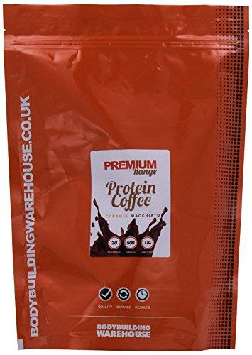 Bodybuilding Warehouse Premium Protein Coffee Powder Caramel Macchiato 500 g