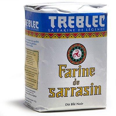 Treblec Farine De Sarrasin - Buckwheat Flour From Brittany - 2.2 Lbs (1 PACK) by Treblec
