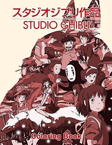 Ghibli Studio Coloring Book
