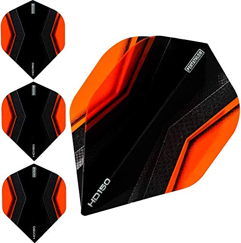 abcdarts Unisex Erwachsene Pentathlon Hd150 Xwing Dart Flights, Orange, Klassische EU