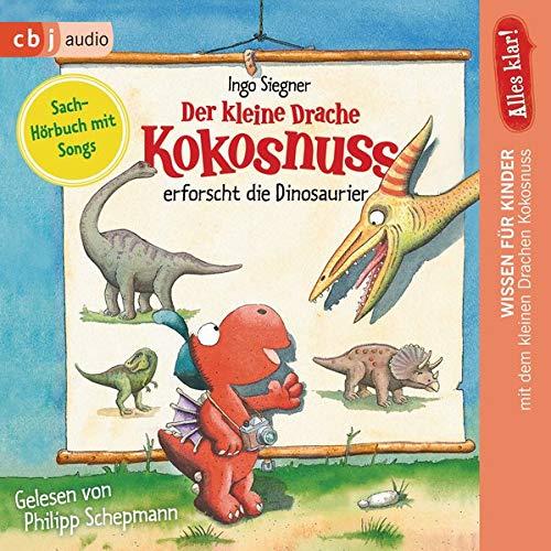 Alles klar! Der kleine Drache Kokosnuss erforscht... Die Dinosaurier Titelbild