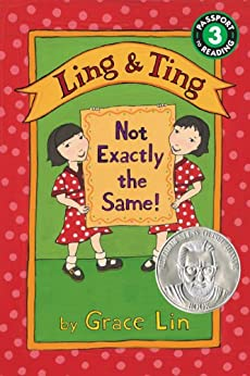 Ling & Ting: Not Exactly the Same! (Passport to Reading Level 3) by [Grace Lin]