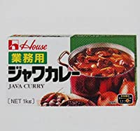 ハウス ジャワカレー 1kg×10個 固形ルー 業務用