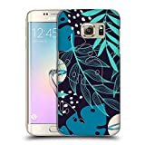 Head Case Designs Officially Licensed by Haroulita Overlays Leaves 2 Hard Back Case Compatible with Samsung Galaxy S7 Edge