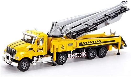 edición limitada en caliente WDXIN Bomba de de de concreto Camión Fundición Modelo de Juguete para Niños Coche de fundición 1 55 Modelo de Juguete de simulación Adecuado para Niños y niñas en Interiores y Exteriores  Precio al por mayor y calidad confiable.